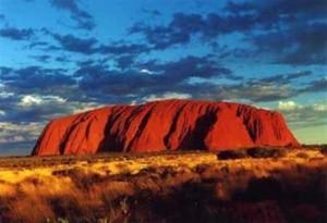 Ausztrália jellegzetes hegye
