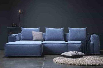 L alakú kanapé